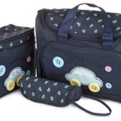 4 pcs diaper bag set for baby