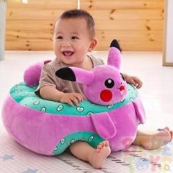 cartoon character floor seat for baby