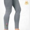 Embroidered Stretchable Tights for girls