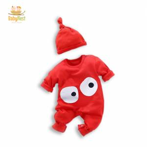 Baby Jumpsuit with Hat