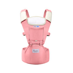 baby carrier bag pink - multi-function breathable baby carrier