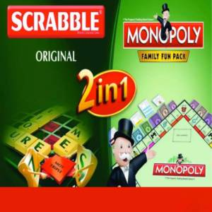 Scrabble and Monopoly - Board Games for Kids
