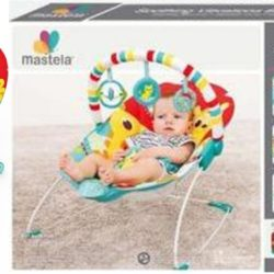 mastela soothing vibration bouncer