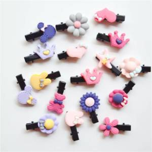 multiple shapes hair clips for girls