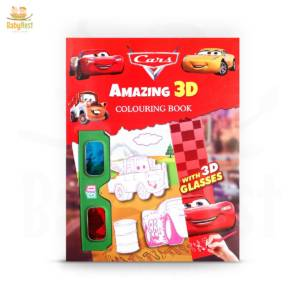 3d coloring book for kids