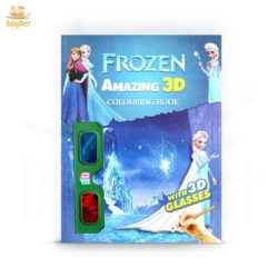 frozen 3d coloring book for kids