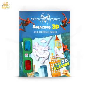 coloring book with 3d glasses