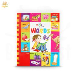 my first learning words book for kids