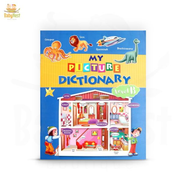 my picture dictionary book