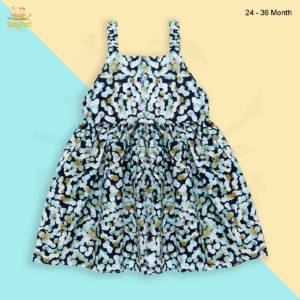 cotton sleeveless frocks for babies