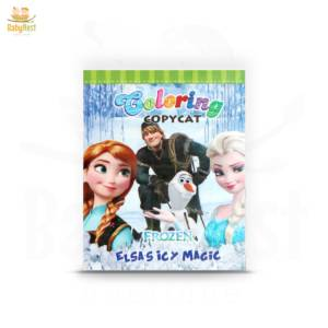 elsa's icy magic coloring book for kids