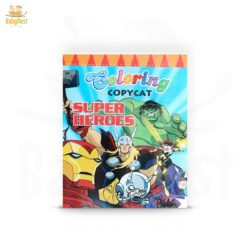 superheroes coloring book for kids