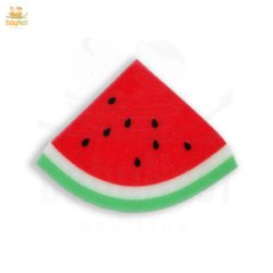 watermelon shaped bath sponge