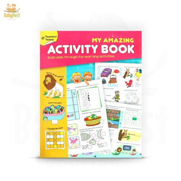 my amazing activity book for kids