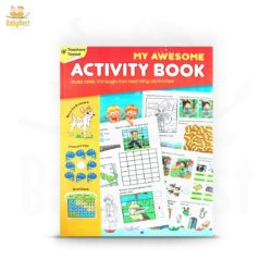 my awesome activity book for kids