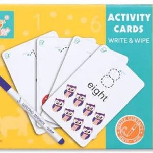 educational activity cards for kids