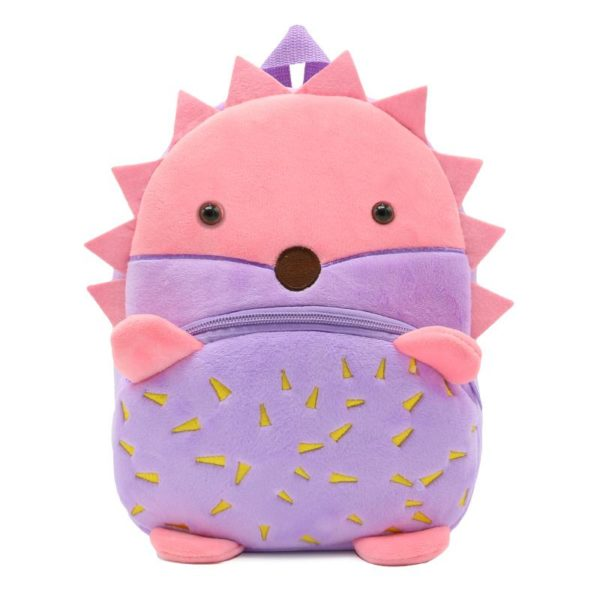 hedgehog shaped school bag for kids