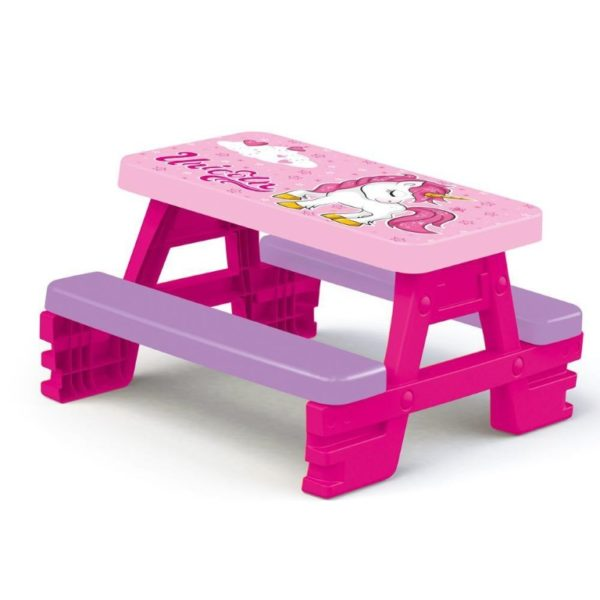 picnic table for kids - unicorn picnic table for 4
