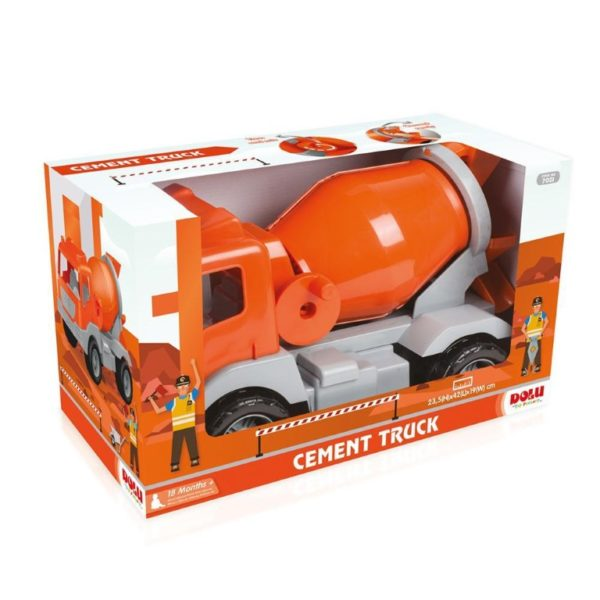 cement truck in window box -kids toys