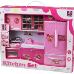 kitchen role play set for girls