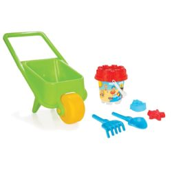 beach trolly with bucket - pilsan toys