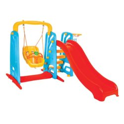 pilsan baby swing and slide set