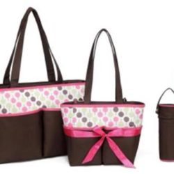 baby diaper bag - colorland 4pcs diaper bag