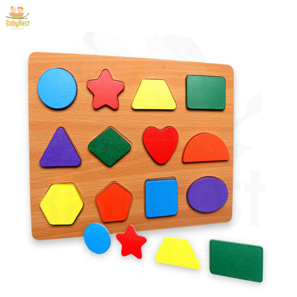 wooden shape puzzles – Board Games for Kids