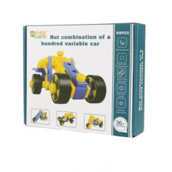 building block set - 76pc nut combination
