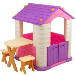 playhouse for kids - ching ching house purple