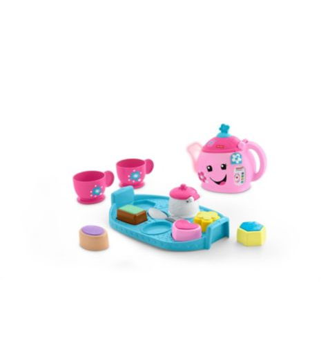 fisher price laugh and learn sweet manners tea play set